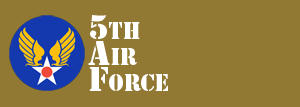 5th Air Force Website Logo